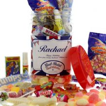 Great British Personalised Sweet Jar - Medium